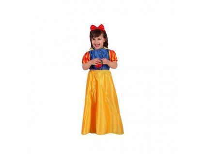 Kostým pro děti Sněhová princezna (Velikost 3–4 roky)