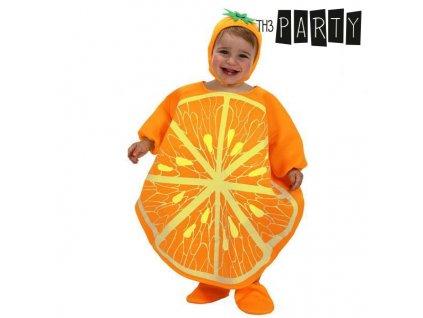 Kostým pro děti Th3 Party Oranžová (Velikost 0-6 měsíců)