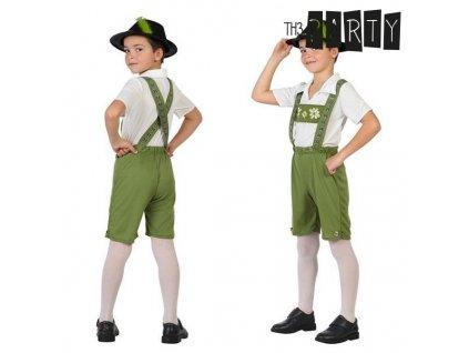 kostým Tyrolský (Velikost 3–4 roky)