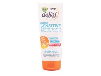 Mléko na opalování Sensitive Advanced Delia (Vyberte možnost Spf 50 - 200 ml)