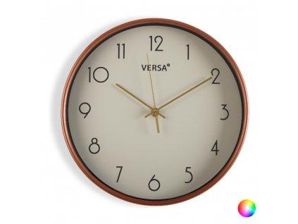 Nástěnné hodiny Gold Plastické (4 x 30 x 30 cm) (Barva Béžová)