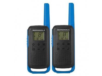 Přenosná vysílačka Motorola B6P00811 (2 ks) (Barva Modrá)