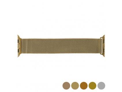 Řemínek hodinek Apple Watch 2/38 Mm KSIX Nerezová ocel (Barva Zlatá)