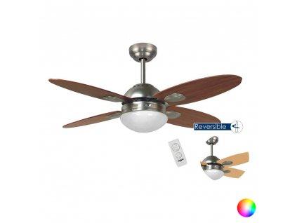 Stropní ventilátor Bastilipo Bermeo 60W (Barva Hnědá)