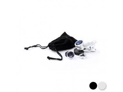 Univerzální objektiv na Smartphone 144787 (Barva Černá)