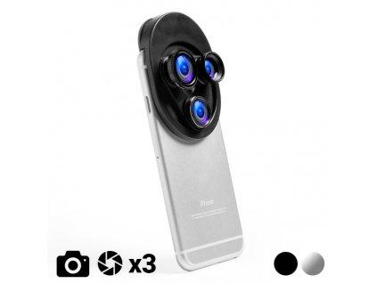 Univerzální objektiv na Smartphone 145632 (Barva Černá)