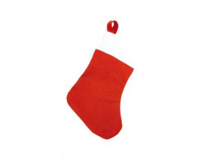 Vánoční Ponožka 143797 (Barva Červená)