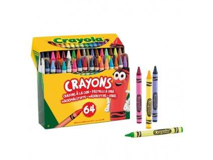 2223791 voskovky crayola 64 ks