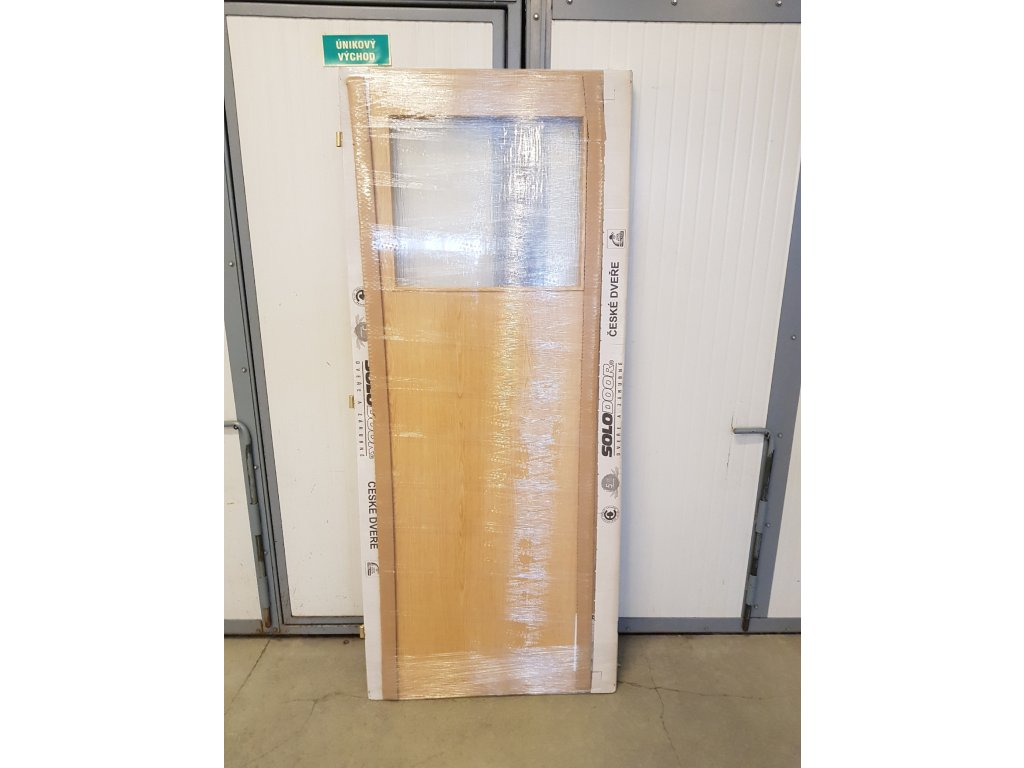 Dveře Solodoor Klasik 1 dub 80L