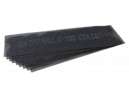 brusna mrizka 290x93mm zrnitost 100