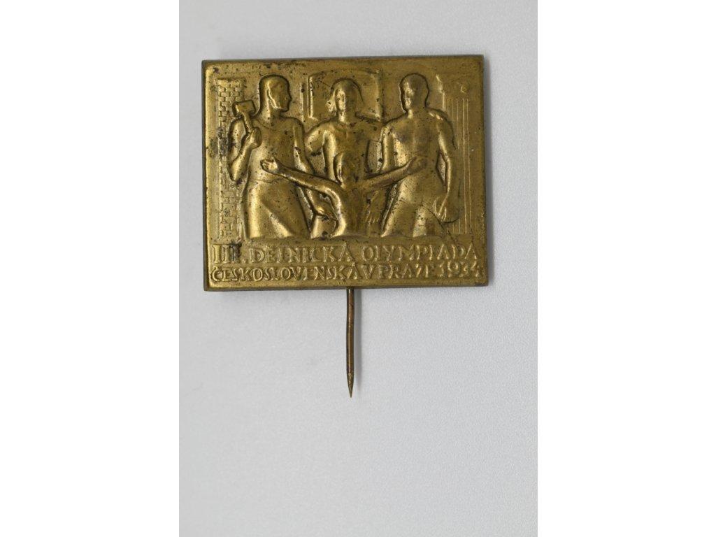 III. Dělnická olympiáda v Praze 1934