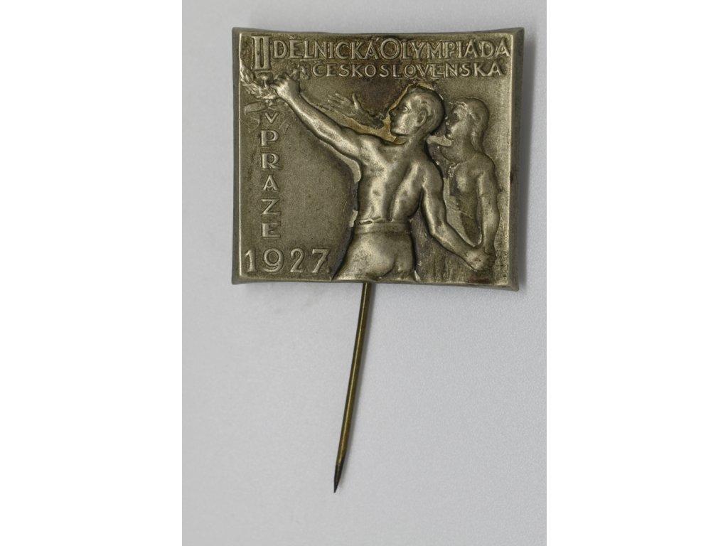 II. Dělnická olympiáda v Praze 1927