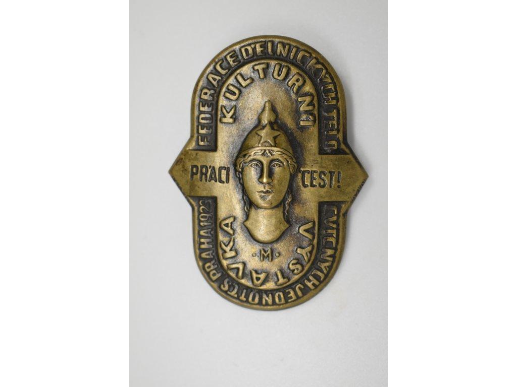 FDJT - Kulturní výstavka Praha 1923