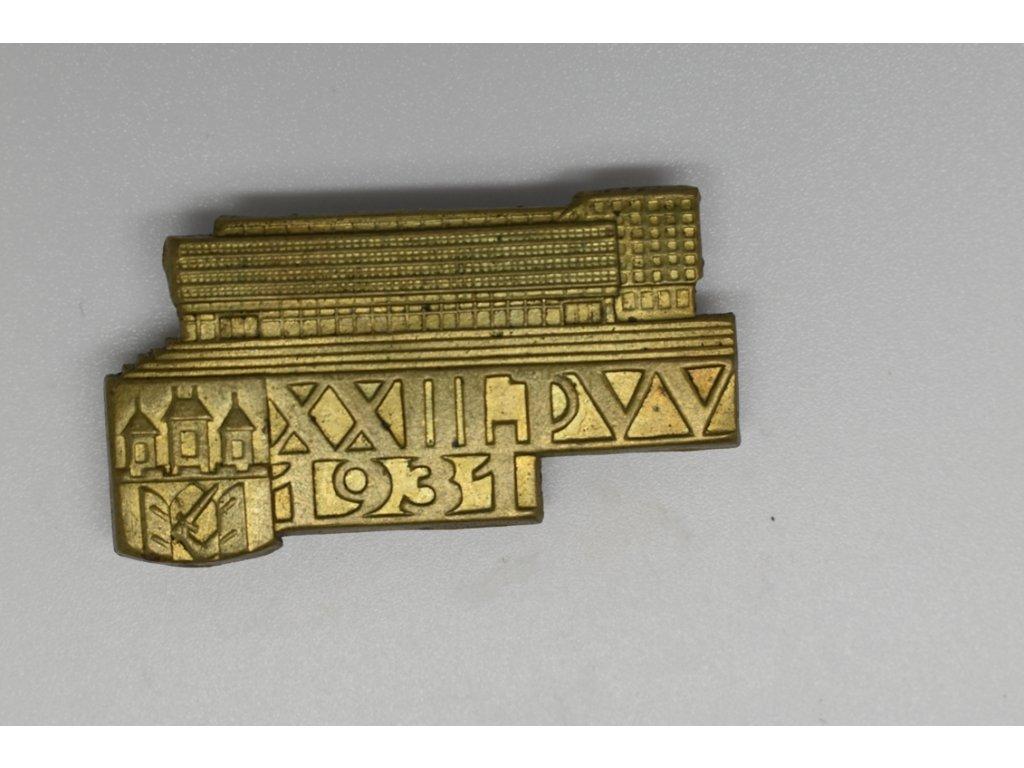 XXIII. Pražský vzorkový veletrh 1931