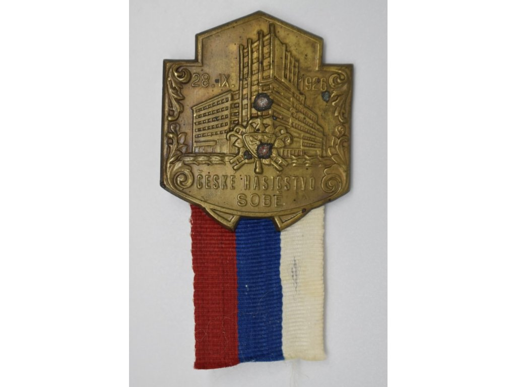 České hasičstvo sobě 1926