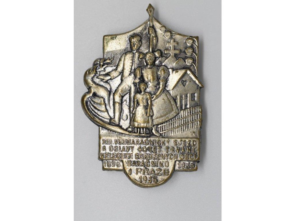 XIII. všebaráčnický sjezd v Praze 1936