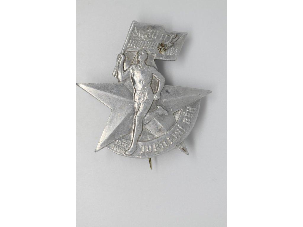 Jubilejní běh Rudého práva 1950