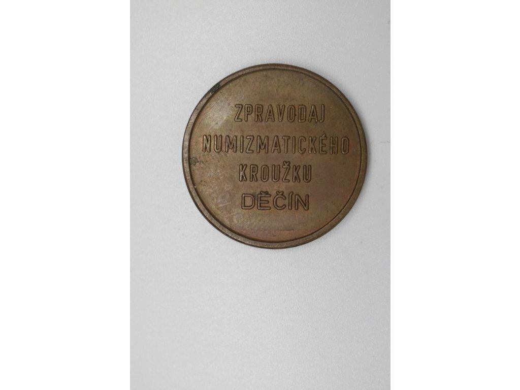 Zpravodaj numizmatického kroužku Děčín 1973