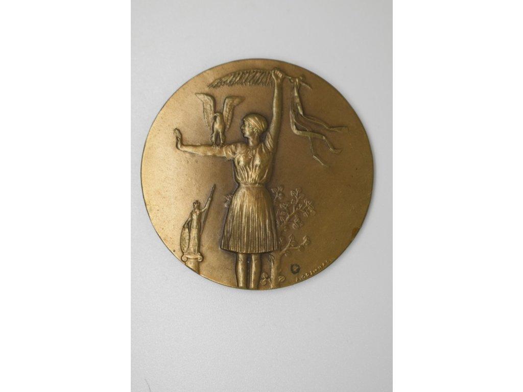 Medaile za vítězství 45mm, A. Odehnal