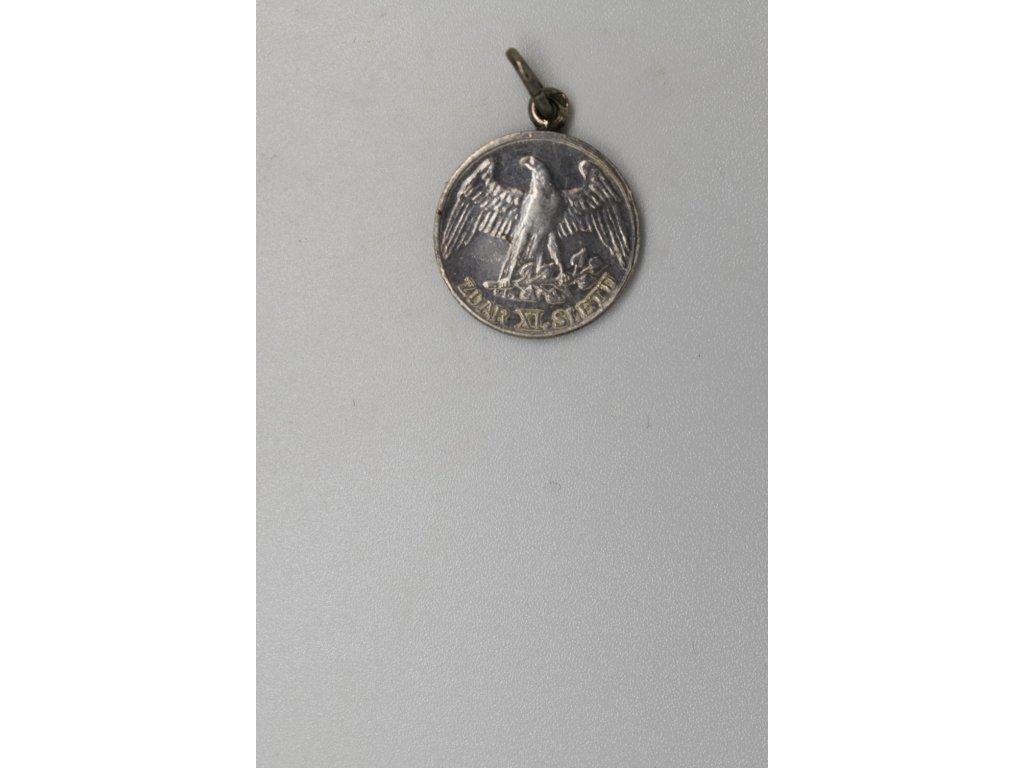 Propagační medaile XI. všesokolského sletu 1948