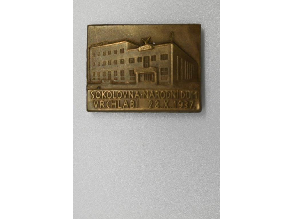 Sokolovna - národní dům Vrchlabí 1937