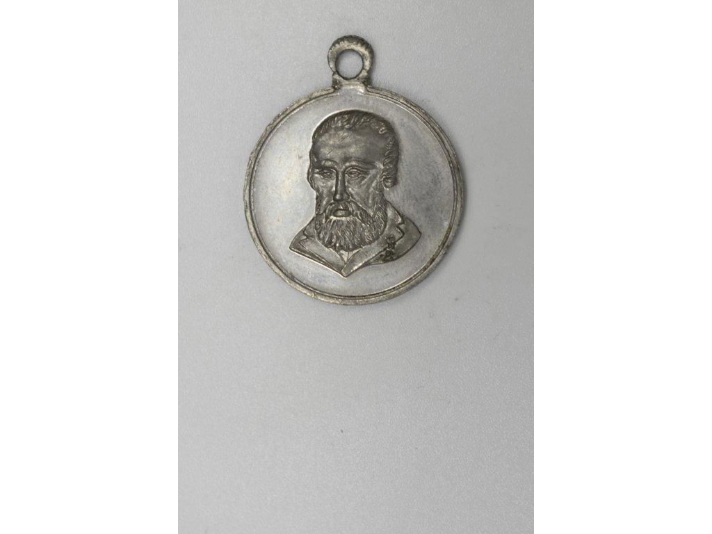Úmrtní medaile Ferdinand V. 1875