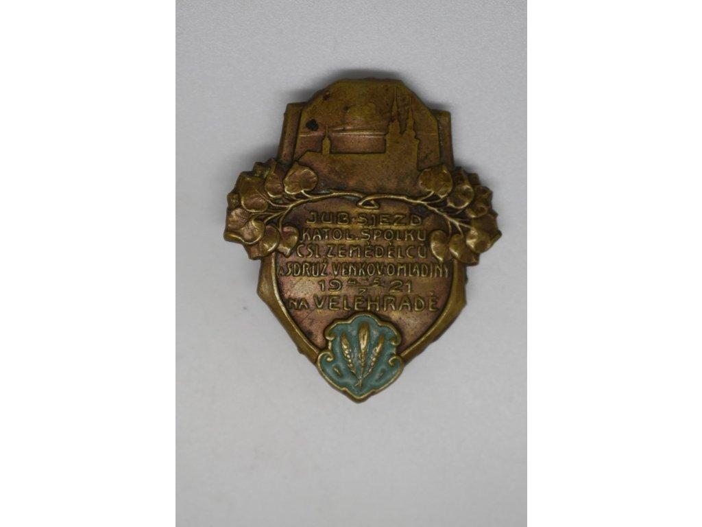 Sjezd katolického spolku čsl. zemědělců a Sdružení venkovské omladiny na Velehradě 1921