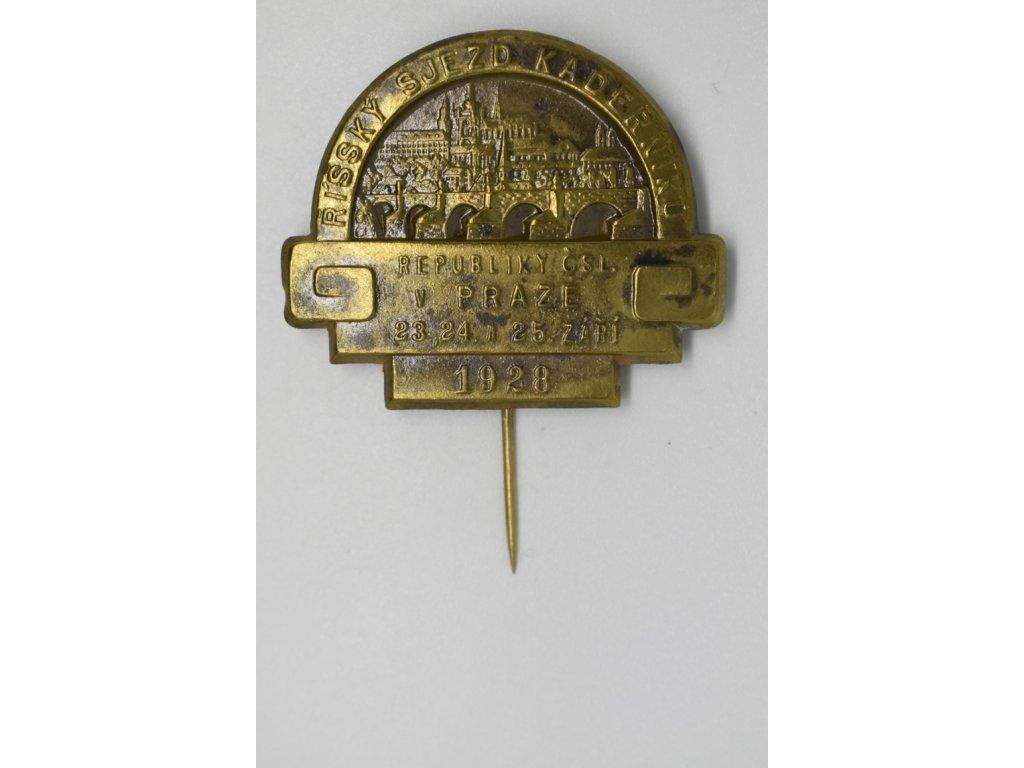 Říšský sjezd kadeřníků v Praze 1928