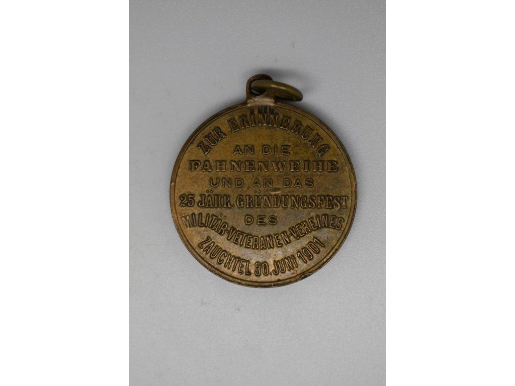 Svěcení praporu spolku vojenských veteránů, Suchdol nad Odrou 1901