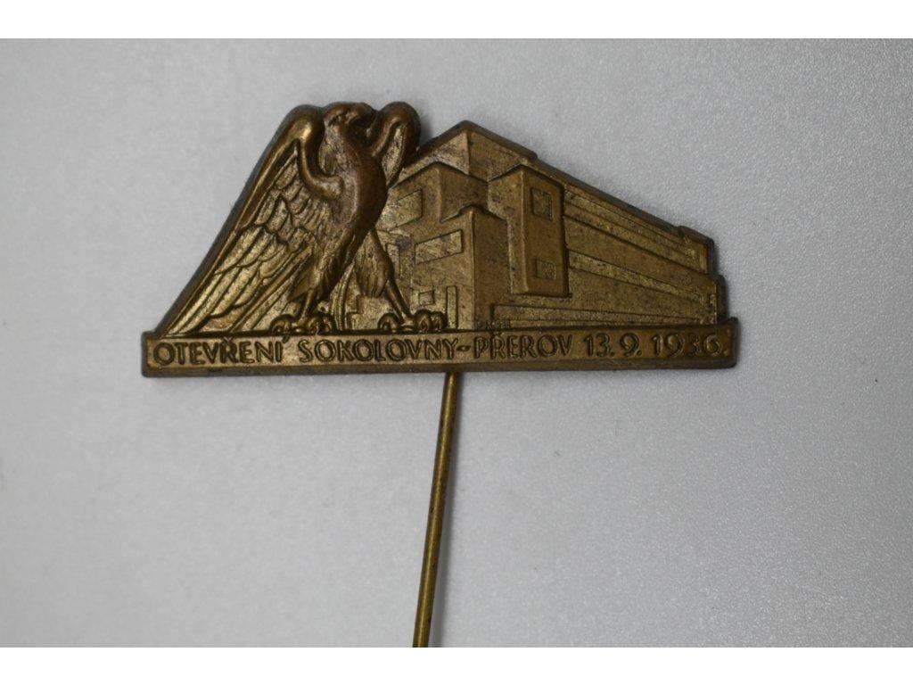 Otevření sokolovny Přerov 1936