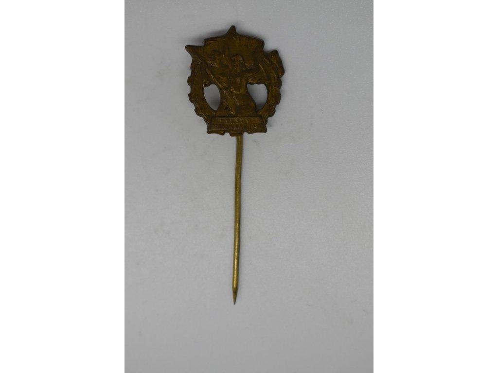 Tyršův odznak zdatnosti, miniatura
