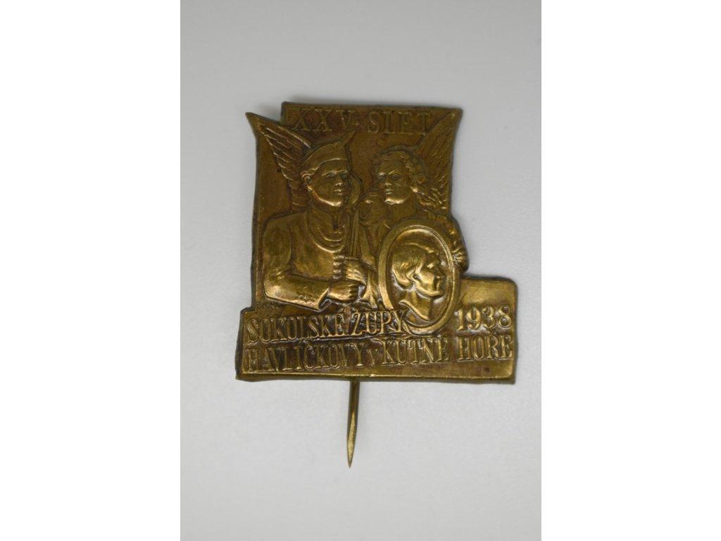 XXV. slet sokolské župy Havlíčkovy v Kutné Hoře 1938
