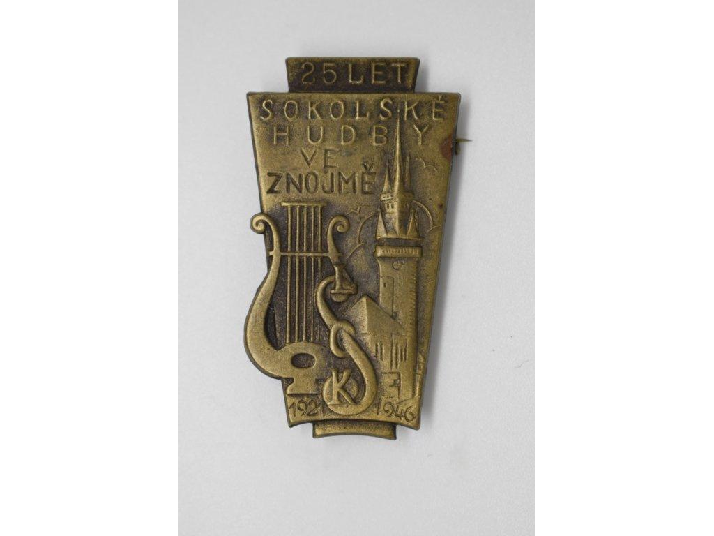 25 let sokolské hudby ve Znojmě 1946