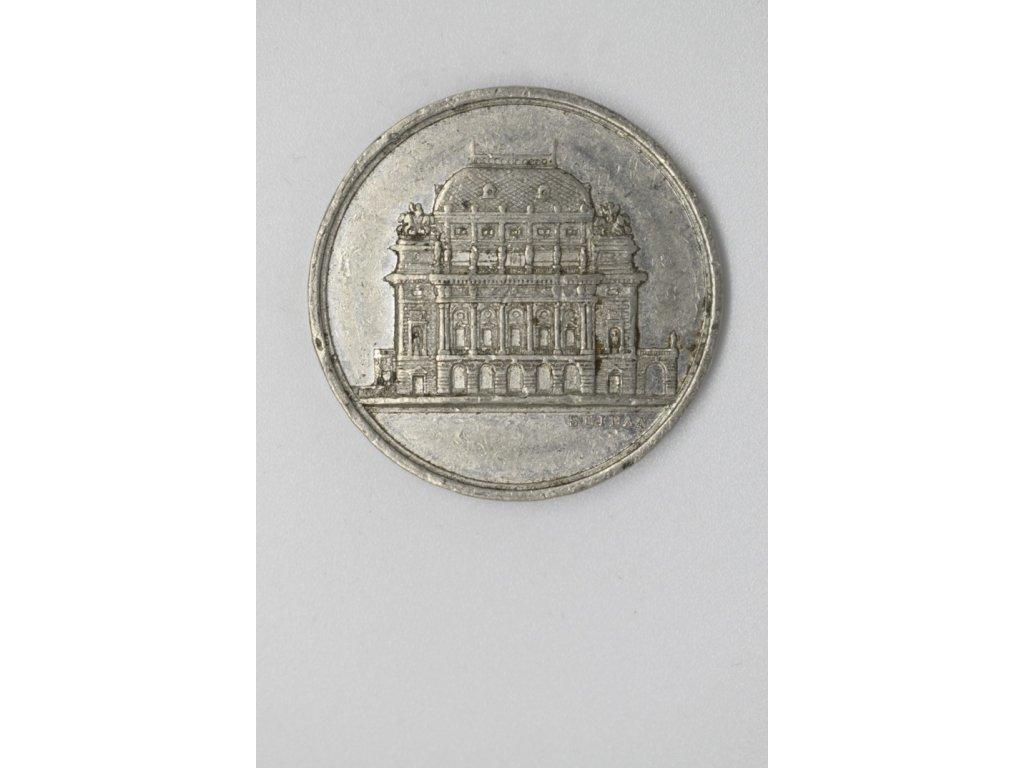 Slavné položení základního kamene divadla národního v Praze 1868, Seidan