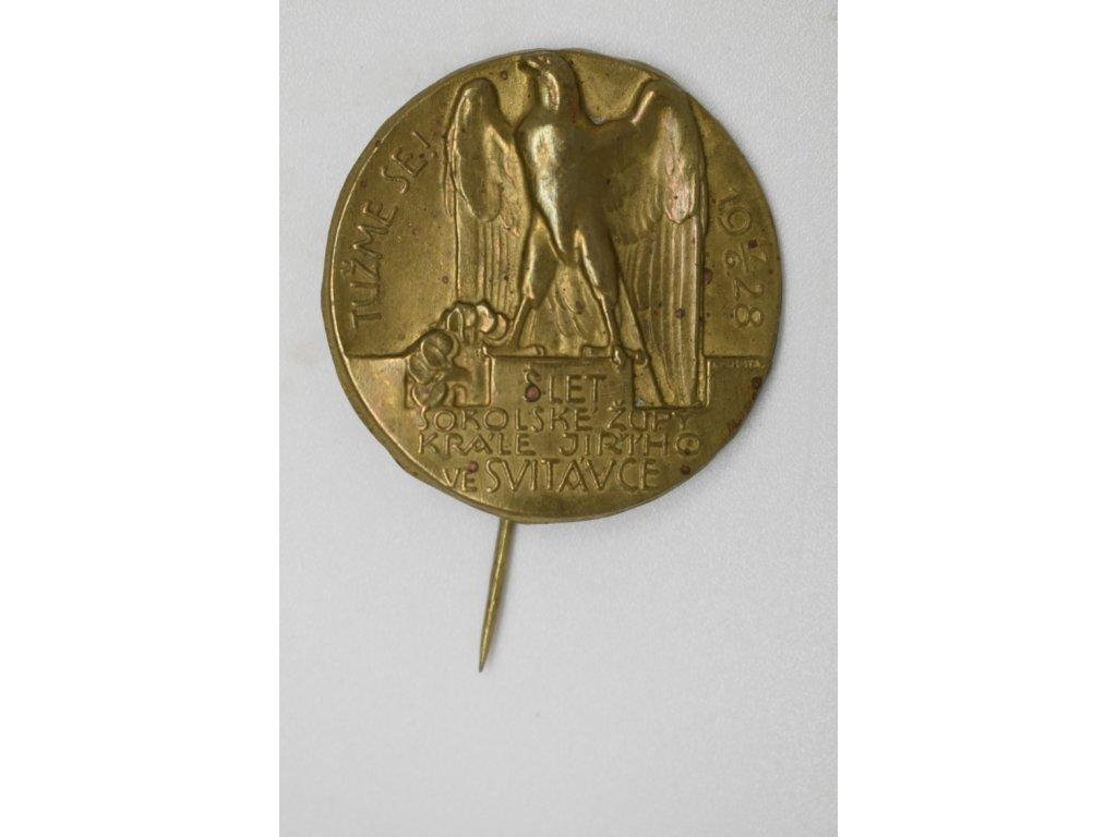 Slet sokolské župy Krále Jiřího ve Svitávce 1928