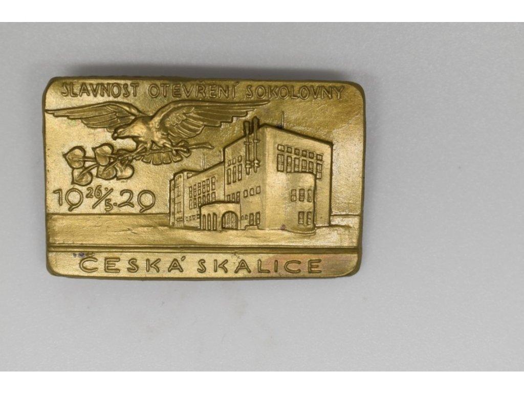 Slavnost otevření sokolovny Česká Skalice 1929