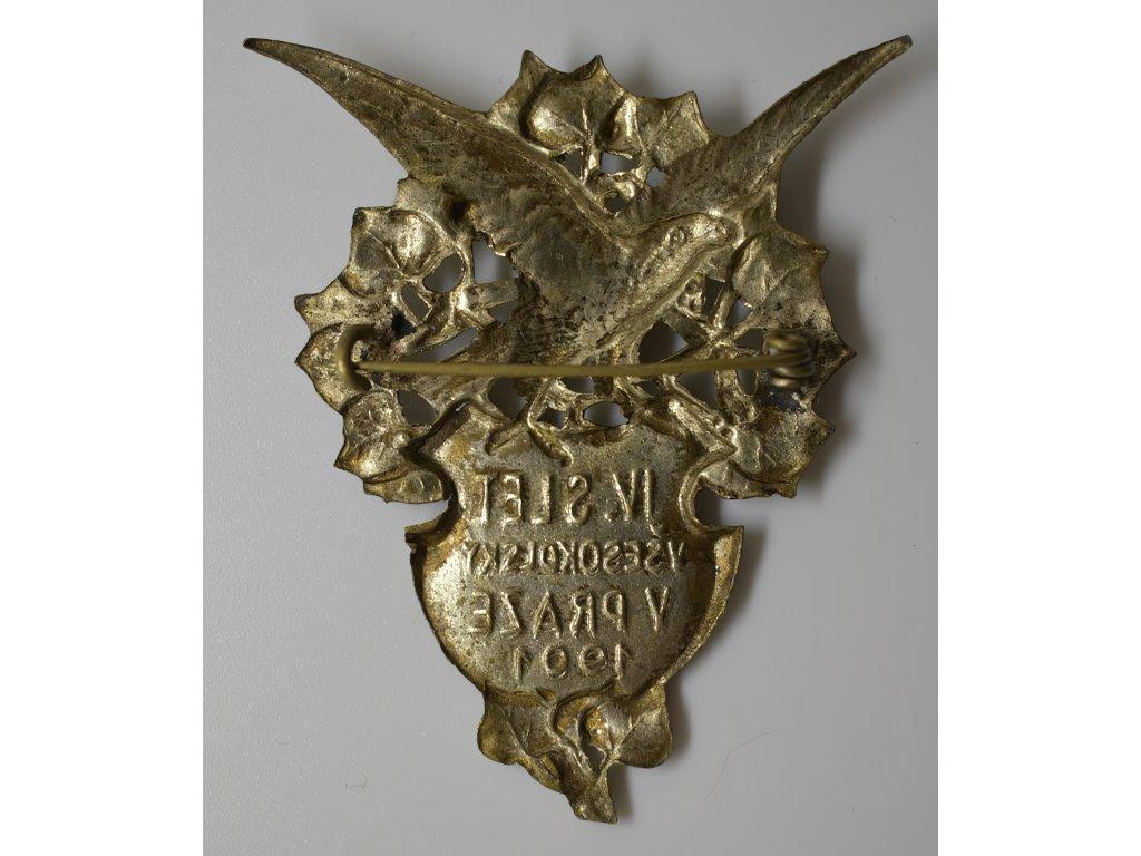 IV. všesokolský slet v Praze 1901