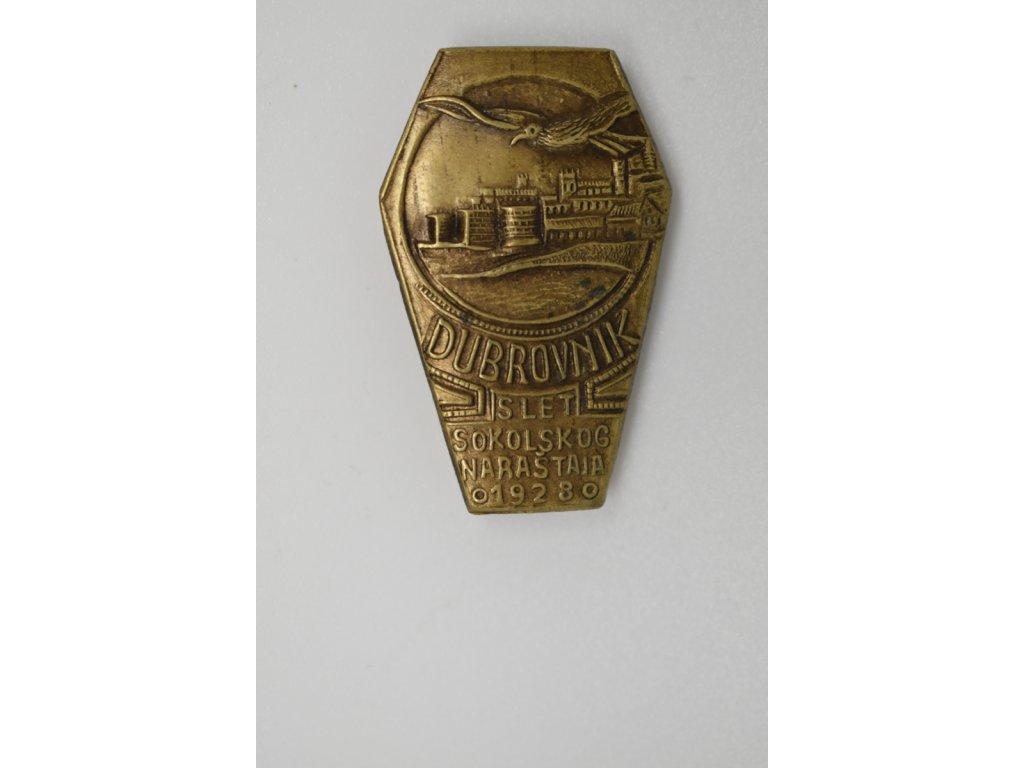 Slet sokolského dorostu Dubrovník 1923