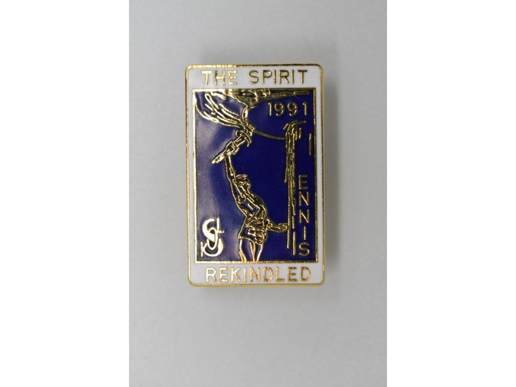 Duch se vzpamatoval Sokol Ennis, Texas 1991