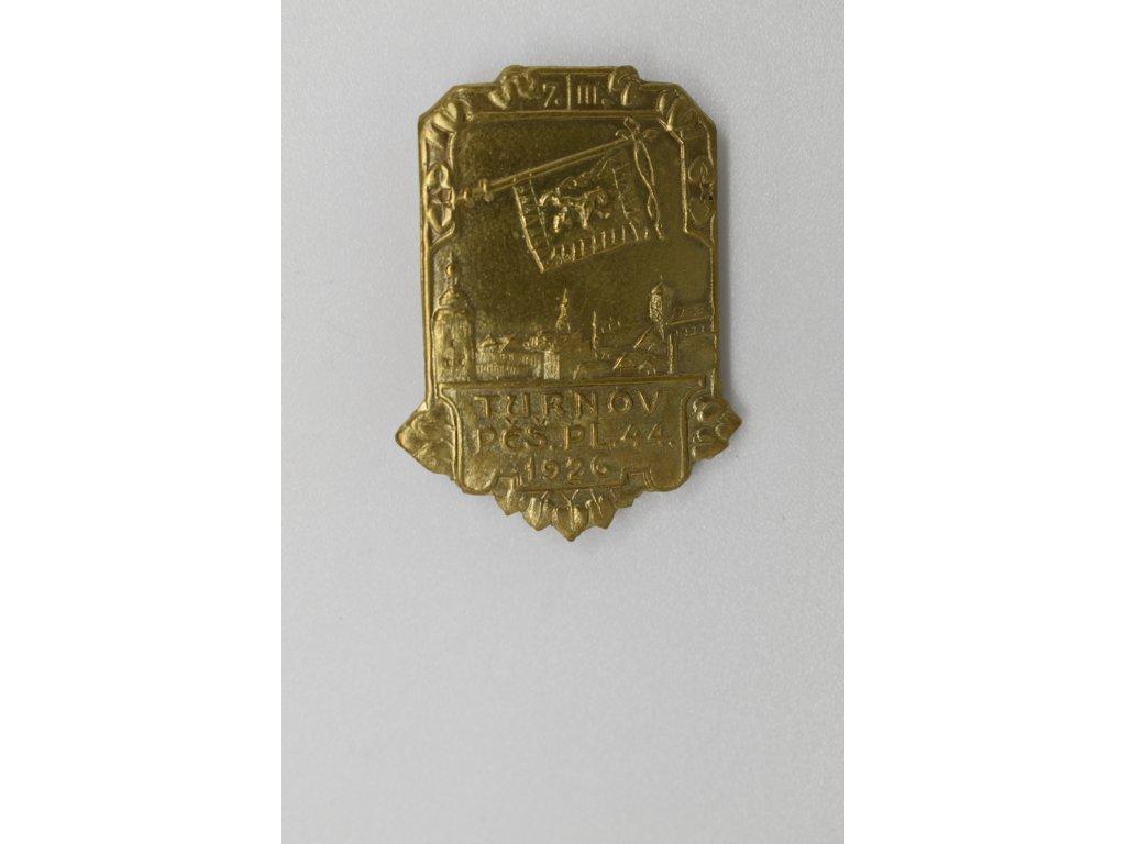 Pěší pluk č. 44 Turnov 1926