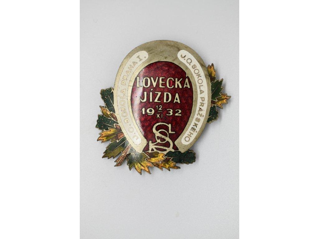 Lovecká jízda Jezdecký odbor Sokola Praha I, Jezdecký odbor Sokola pražského 1932