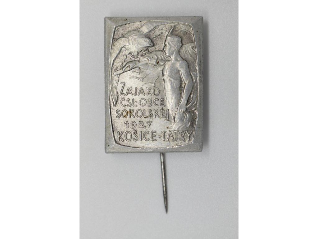 Zájezd Československej obce sokolskej Košice - Tatry 1927