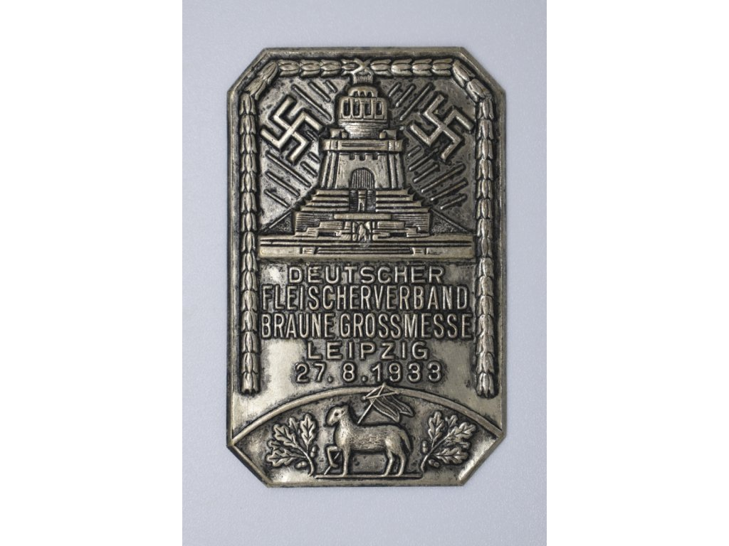 Výstavní veletrh asociace německých řezníku v Lipsku 1933