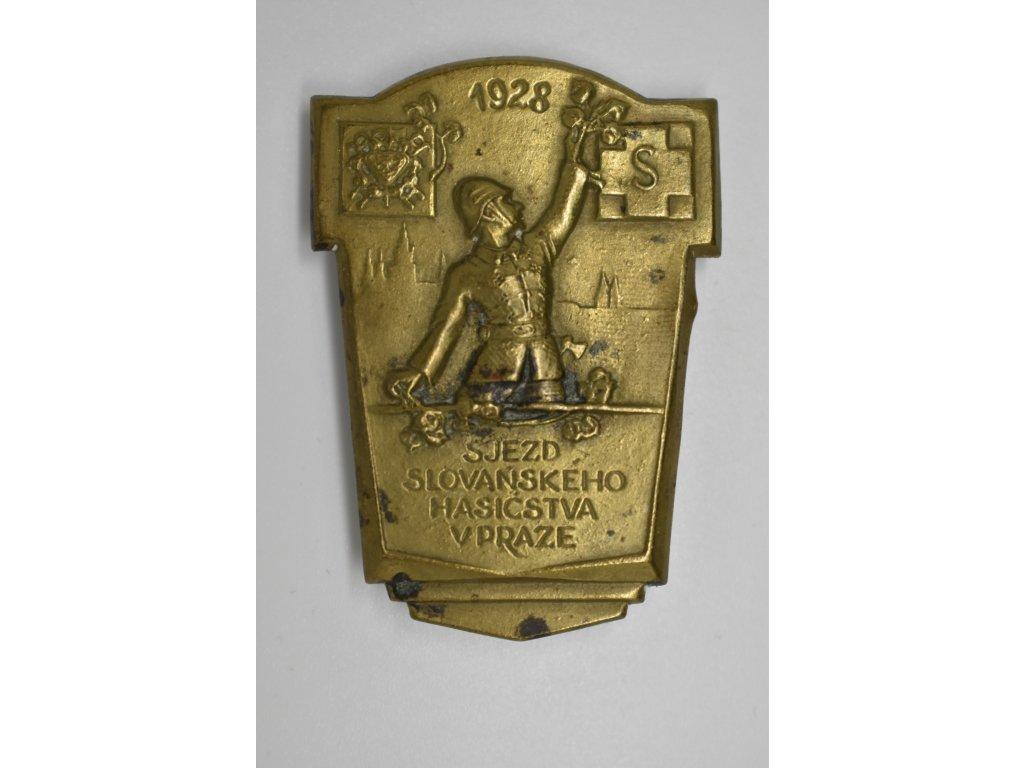 Sjezd slovanského hasičstva v Praze 1928