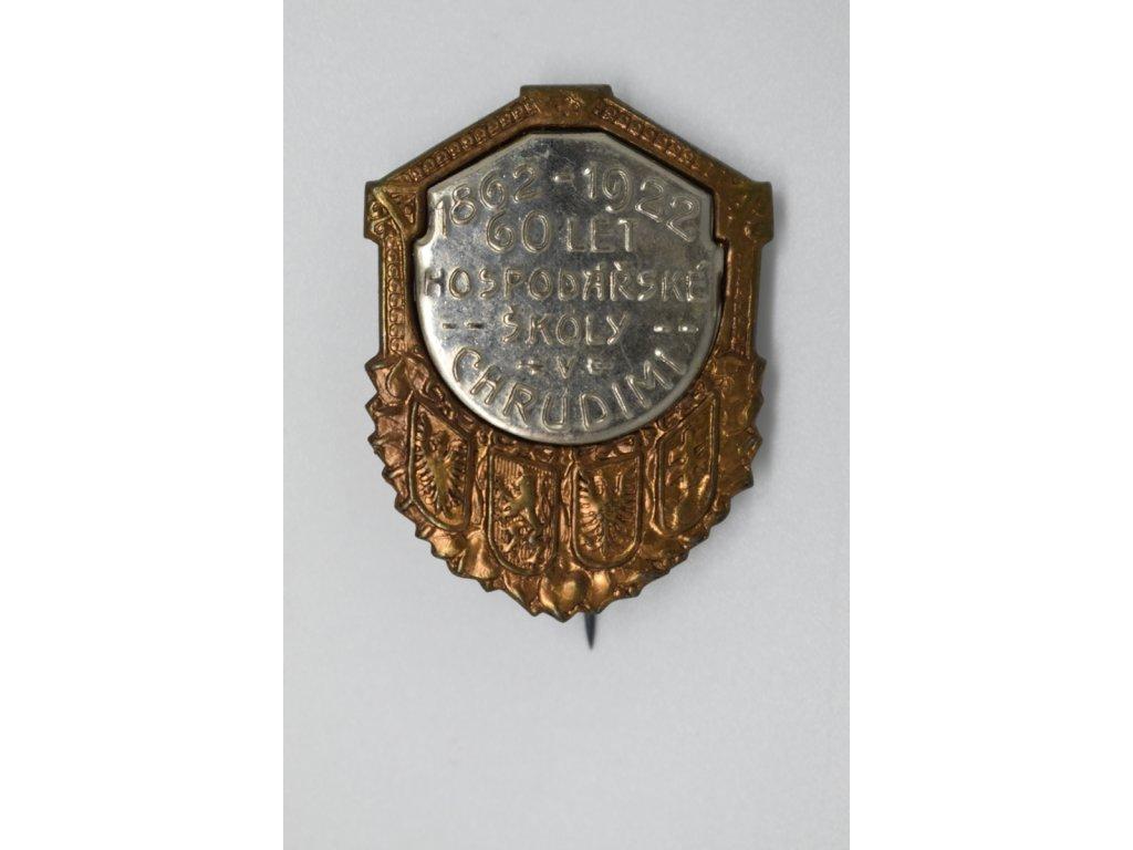 60 let hospodářské školy v Chrudimi 1922