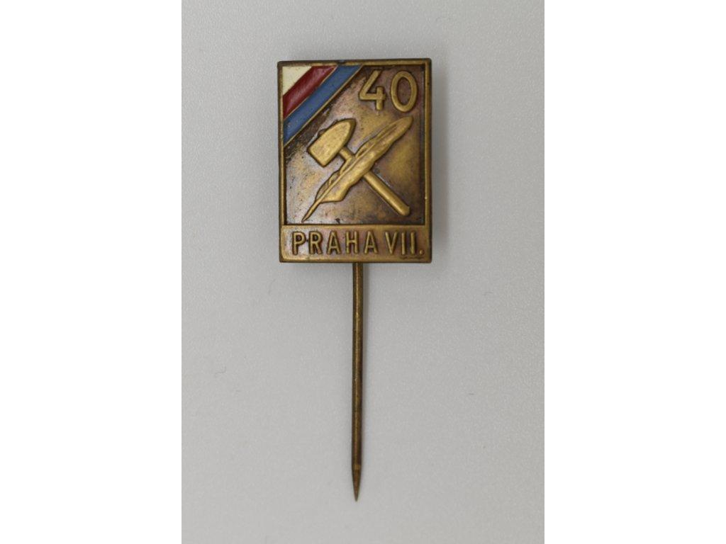 40 let ČSNS Praha VII. 1937