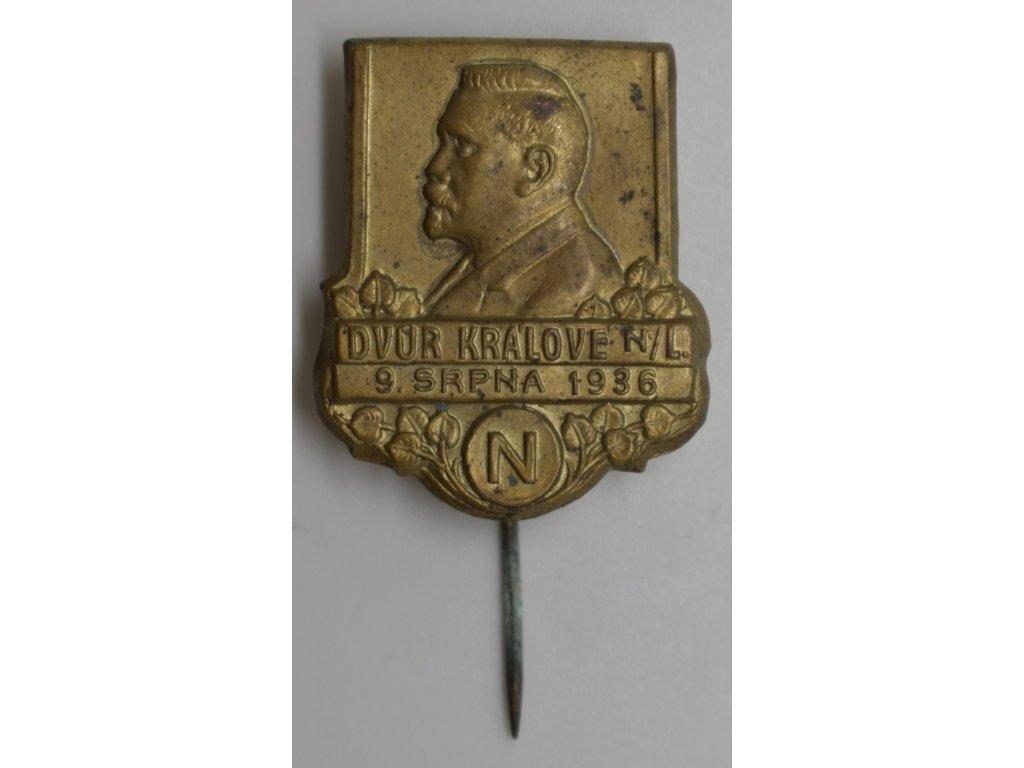 Švehla - Dvůr Králové nad Labem 1936