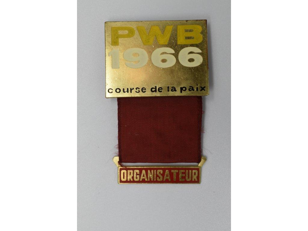 Cyklistický závod míru - Organizátor 1966