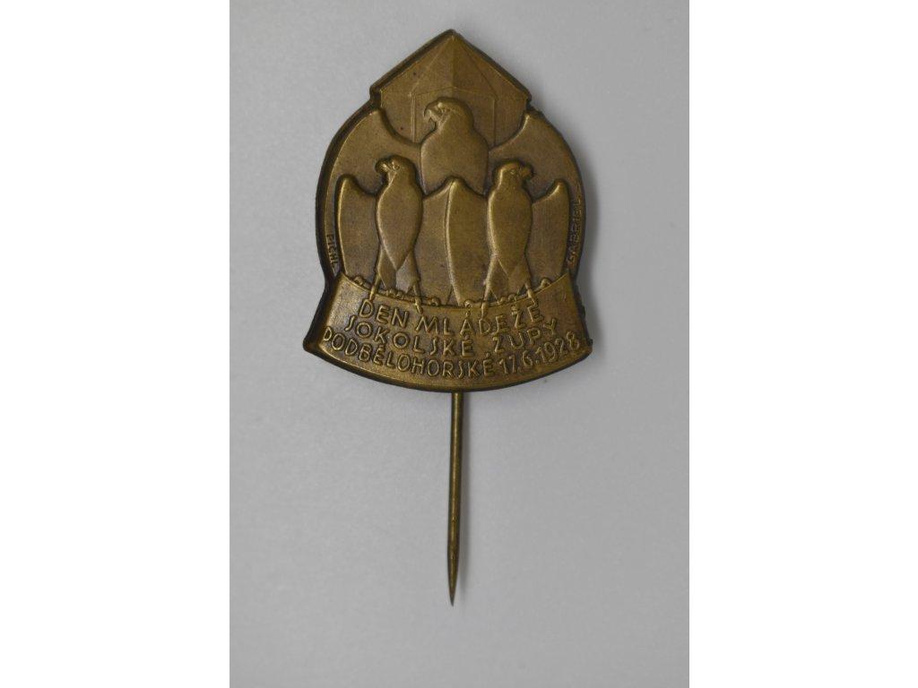 Den mládeže sokolské župy Podbělohorské 1928