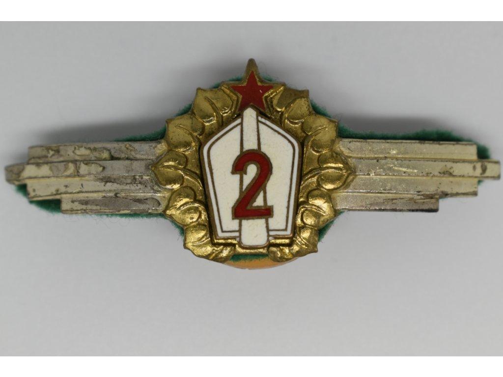 Vojenská třídnost 2 (těžká verze)